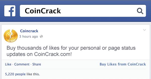 Facebook Status Update Likes