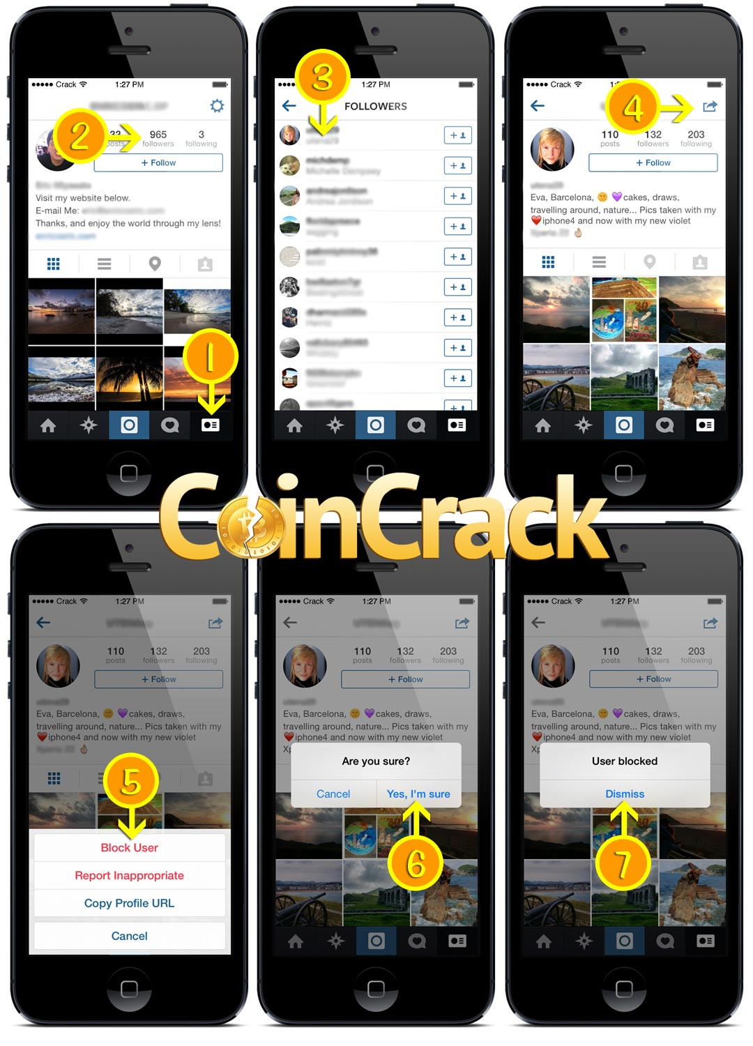 How to delete followers on instagram coincrack steps to delete followers on instagram ccuart Choice Image