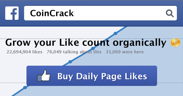 Daily Facebook Page Likes
